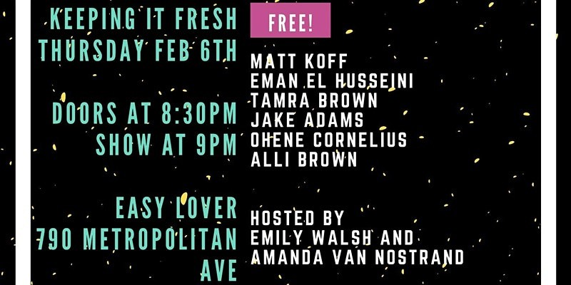 Keeping it Fresh! A Comedy Show