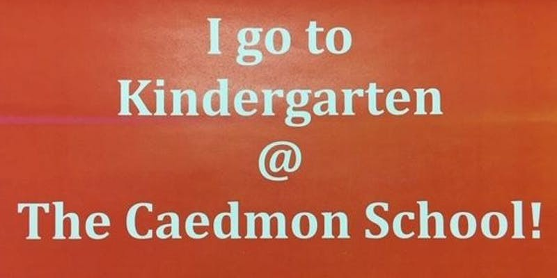 Caedmon Kindergarten Welcome Party!!