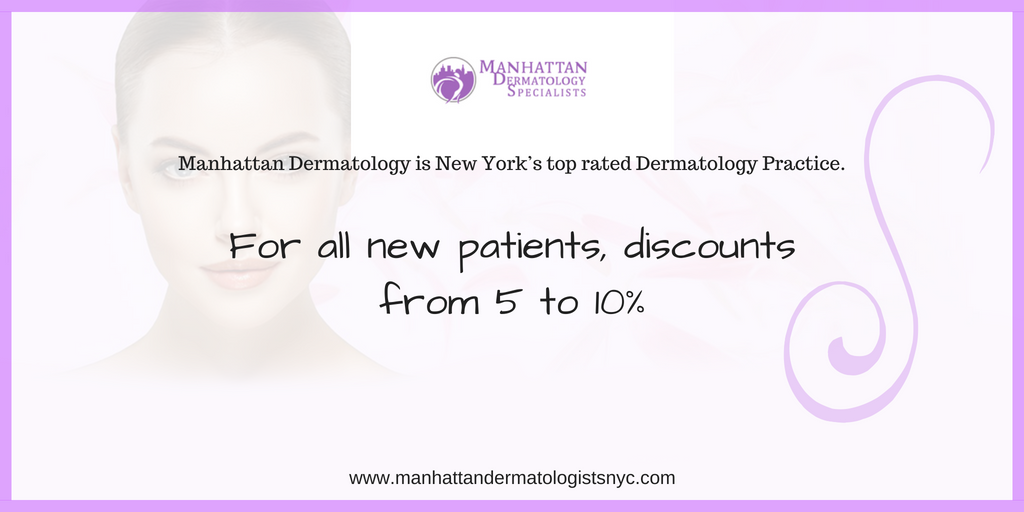 Discount for new patients from Manhattan Dermatology Specialists Union Square