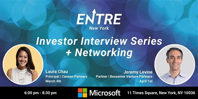 Investor Interview Series + Networking