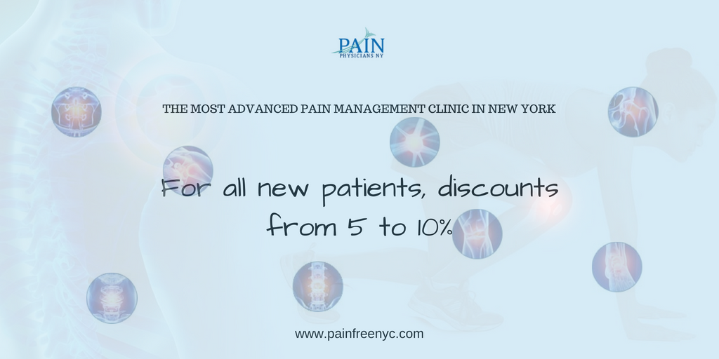 Discount for new patients from Pain Physicians NY