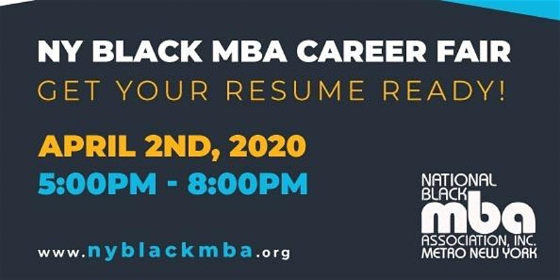 2020 Metro New York Black MBA Spring Career Fair