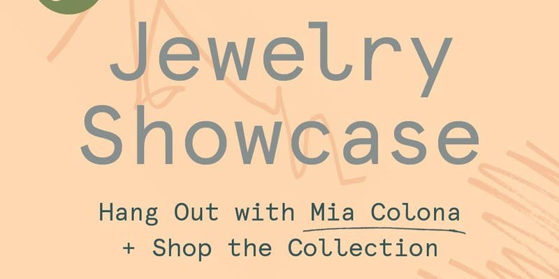 Mia Colona Jewelry Showcase
