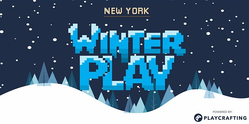 WINTER PLAY: NYC Game Expo