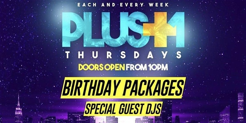 PLUS ONE THURSDAYS